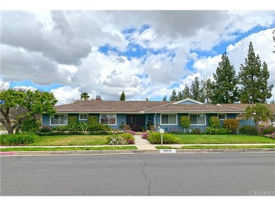 Northridge Single Family Home For Sale: 18909 Mayall Street