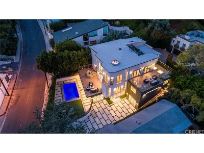 Hollywood Hills Single Family Home For Sale: 1432 North Kings Road