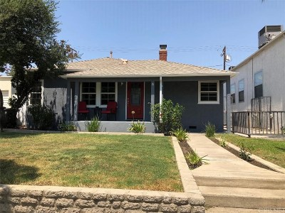 Burbank Single Family Home For Sale: 3905 West Victory Boulevard