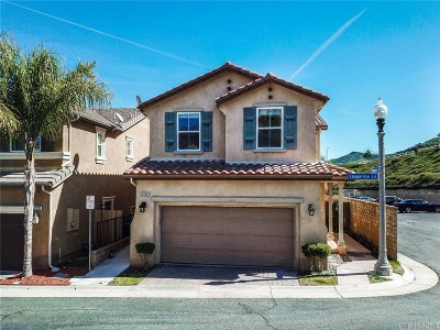 Saugus Single Family Home Active Under Contract: 28206 Tangerine Lane