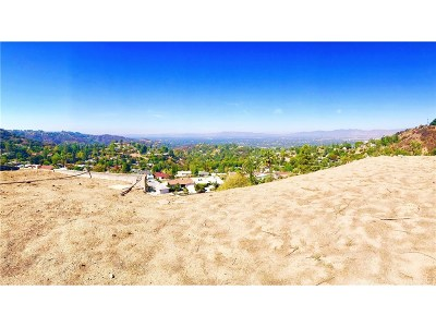 Los Angeles County Single Family Home For Sale: 8017 Mulholland Drive