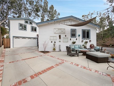 Calabasas Single Family Home Active Under Contract: 23777 Mulholland #46