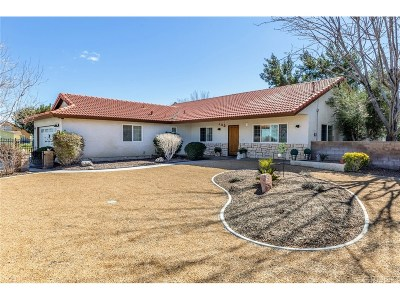 Palmdale Single Family Home For Sale: 1620 West Avenue N