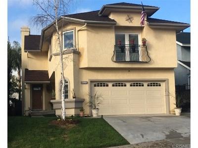 Saugus Single Family Home For Sale: 22808 Boxwood Lane