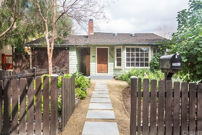 Woodland Hills Single Family Home Active Under Contract: 22041 Martinez Street