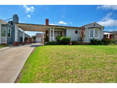 Burbank Single Family Home Active Under Contract: 251 South Mariposa Street