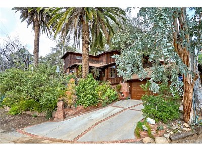 Woodland Hills Single Family Home For Sale: 20921 Puente Road