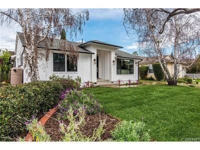 Sherman Oaks Single Family Home For Sale: 14001 Morrison Street