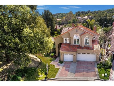 Newhall Single Family Home For Sale: 24606 Brittany Lane