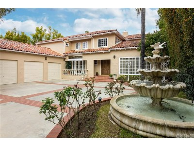 Encino Single Family Home For Sale: 5110 Gloria Avenue