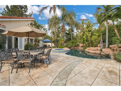 Encino Single Family Home For Sale: 17947 Valley Vista Boulevard