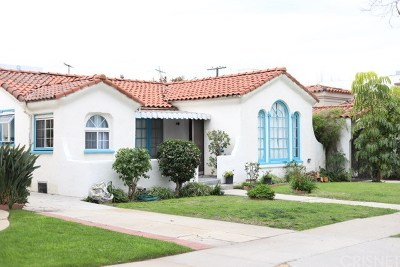 Los Angeles County Single Family Home For Sale: 6222 Drexel Avenue