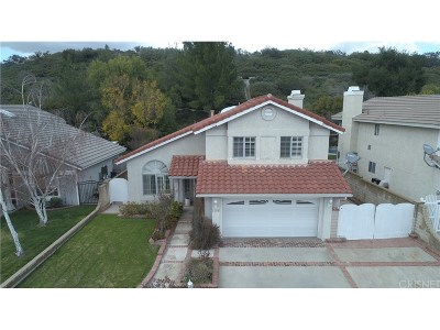 Saugus Single Family Home For Sale: 22515 Cardiff Drive