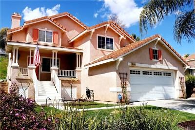 Saugus Single Family Home For Sale: 27659 Kristin Lane