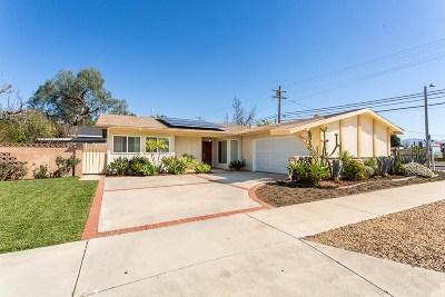 Mission Hills San Fernando Single Family Home For Sale: 15001 Blackhawk Street