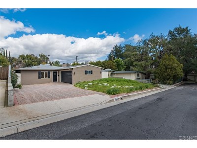 Woodland Hills Single Family Home Active Under Contract: 22227 Flanco Road