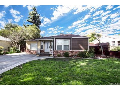 Reseda Single Family Home Active Under Contract: 7019 Jamieson Avenue
