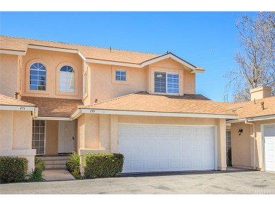 Saugus Condo/Townhouse For Sale: 22931 Banyan Place #270