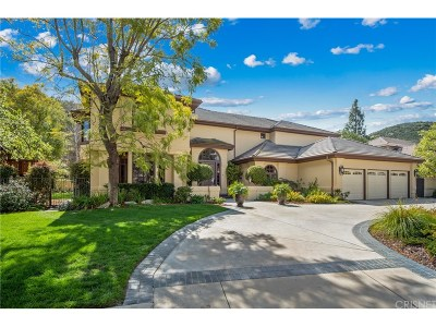 Calabasas Single Family Home For Sale: 23912 Aspen Way