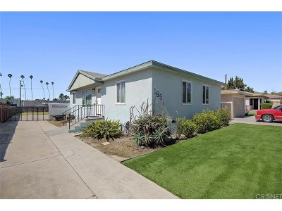 Ventura Single Family Home For Sale: 185 Lang Street