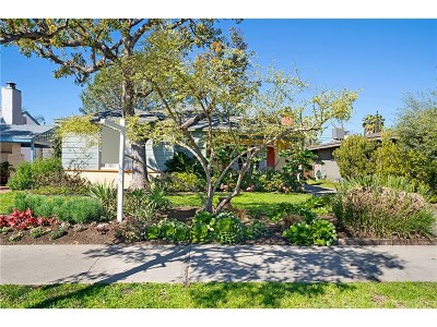 North Hollywood Single Family Home For Sale: 6321 Cleon Avenue