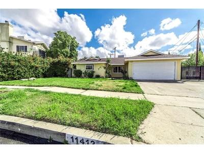Granada Hills Single Family Home Active Under Contract: 11412 Gaynor Avenue