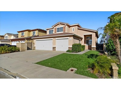 Castaic Single Family Home Active Under Contract: 30430 Barcelona Road