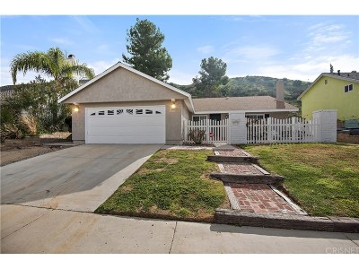 Canyon Country Single Family Home For Sale: 28936 Gladiolus Drive