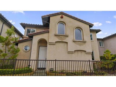 Saugus Single Family Home For Sale: 21109 Avenida De Sonrisa