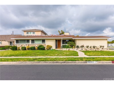Granada Hills Single Family Home Active Under Contract: 10455 Gaynor Avenue