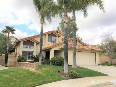 Saugus Single Family Home Active Under Contract: 28359 Easton Lane