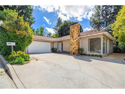 Sherman Oaks Single Family Home For Sale: 3407 Coy Drive