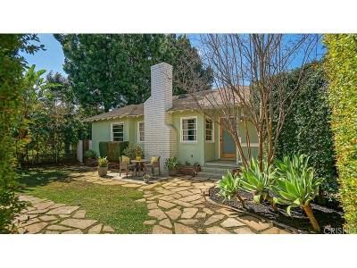 Sherman Oaks Single Family Home For Sale: 5047 Fulton Avenue