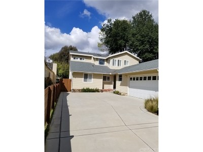 Woodland Hills Single Family Home Active Under Contract: 22111 San Miguel Street