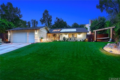 Woodland Hills Single Family Home For Sale: 5353 Del Moreno Drive