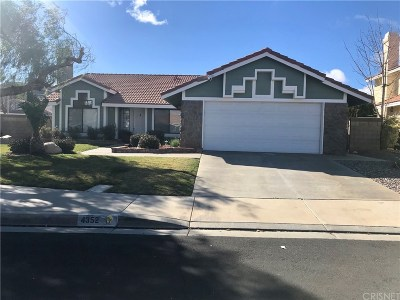 Palmdale Single Family Home For Sale: 4352 Cocina Lane