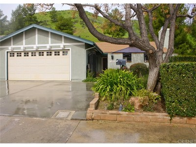 Castaic Single Family Home Active Under Contract: 31689 Bobcat Way