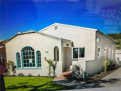 Compton Single Family Home For Sale: 415 West School Street #W