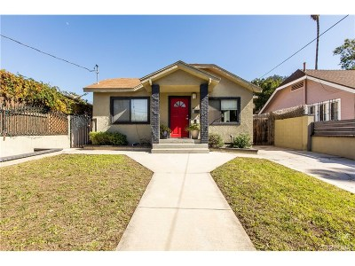 Single Family Home For Sale: 1120 Manzanita Street