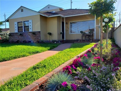 Burbank Single Family Home For Sale: 1335 North Lima Street