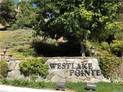Westlake Village Condo/Townhouse For Sale: 32114 Canyon Ridge Drive