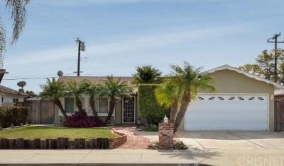 Ventura Single Family Home For Sale: 7330 Grant Street