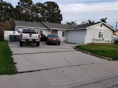 Oxnard Single Family Home For Sale: 3952 S G Street