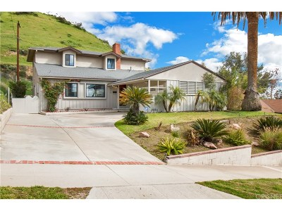 Burbank Single Family Home Active Under Contract: 824 Irving Drive