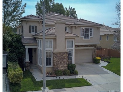Saugus Single Family Home For Sale: 28670 Silverking