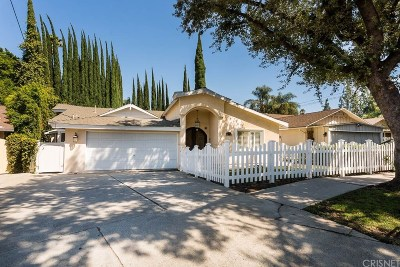 Encino Single Family Home Active Under Contract: 4934 Swinton Avenue