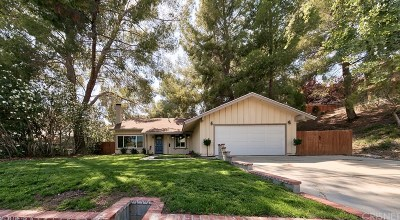 Canyon Country Single Family Home For Sale: 29917 Grandifloras Road