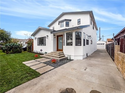 Los Angeles Single Family Home For Sale: 2617 South Spaulding Avenue