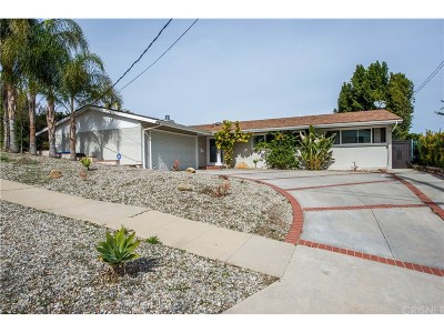 Woodland Hills CA Single Family Home For Sale: $799,500