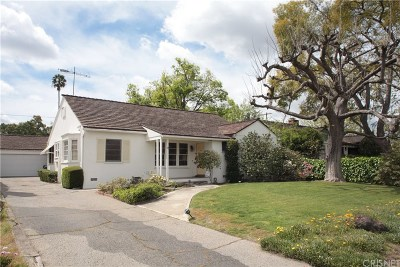 Studio City Single Family Home Active Under Contract: 12348 Sarah Street